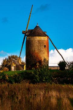 Moulin solitaire