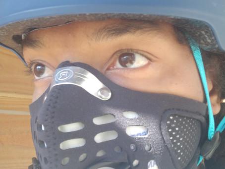 Avis et test du masque antipollution Respro Sport pour le vélo