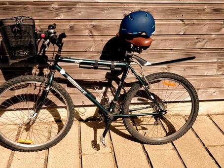 Avis et test du casque vélo Abus Scraper 3.0 Ace et rétroviseur Zefal Spin