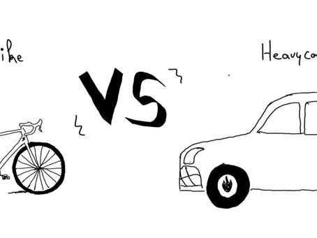 Vélo versus Voiture, le combat qui dure
