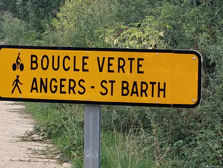 Voie verte Angers - Saint Barthélémy d'Anjou
