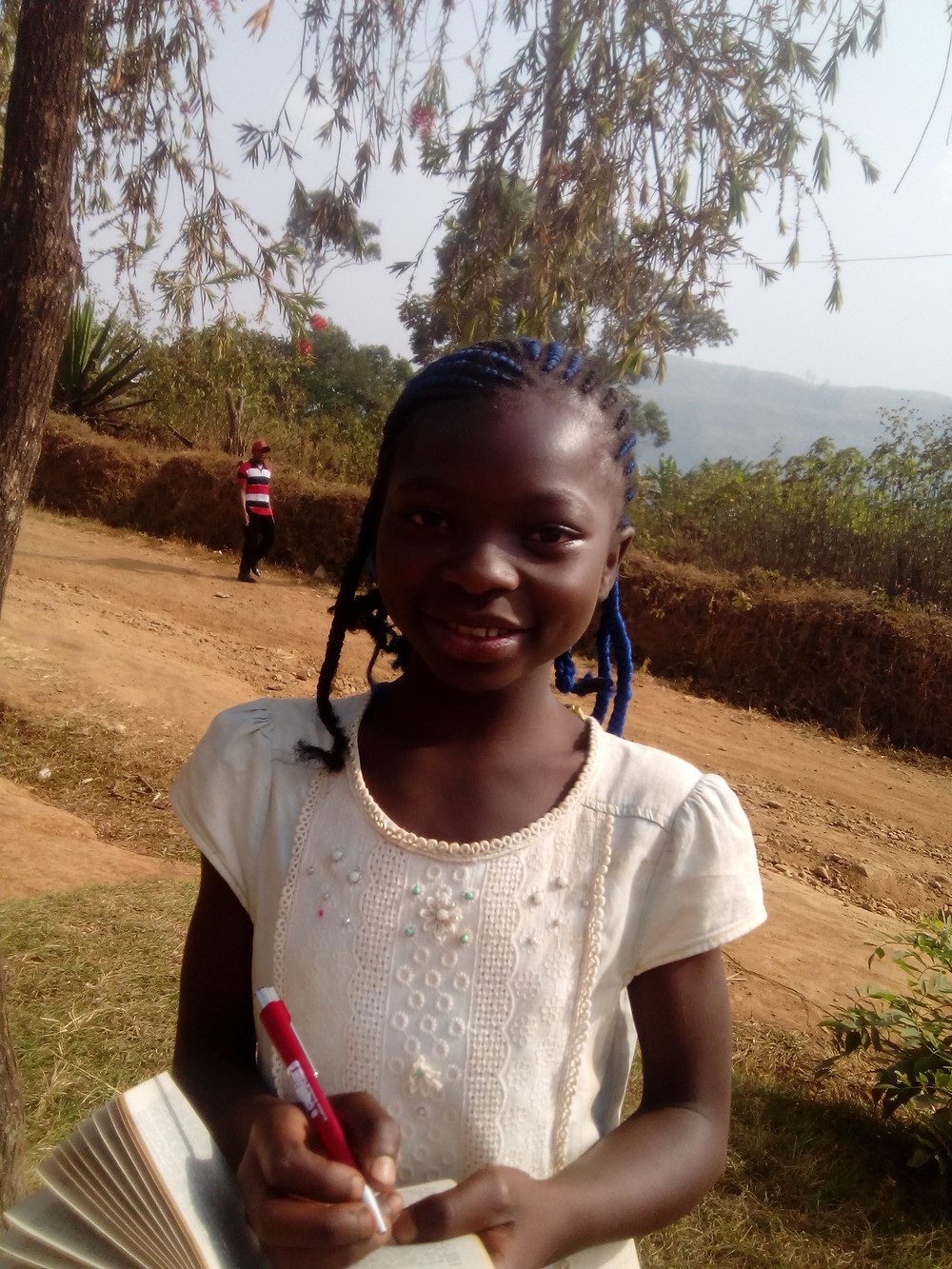 Larissa - one of our children currently seeking sponsorship