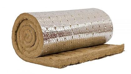 Мат теплоизоляционный с алюминиевой фоль