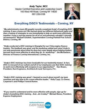 DiSC Testimonials - Corning NY.JPG