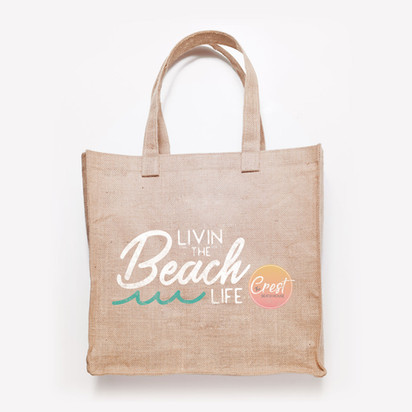 THE CREST BEACH HOUSE- Welcome Tote