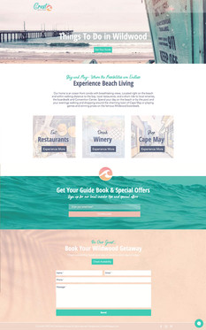 THE CREST BEACH HOUSE- Experience Page