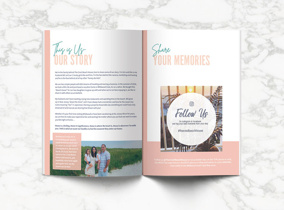 THE CREST BEACH HOUSE- Welcome Book