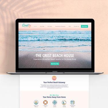 THE CREST BEACH HOUSE- Website