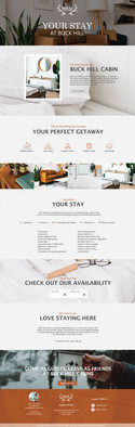 THE GREAT OUTDOORS- Your Stay Page