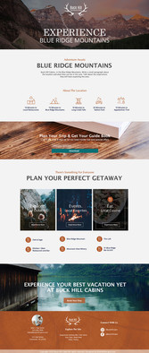 THE GREAT OUTDOORS- Experience Page
