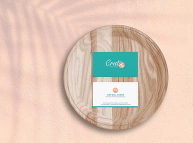 THE CREST BEACH HOUSE- Business Card Design
