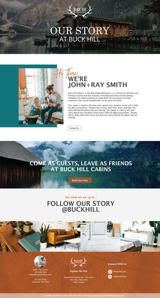 THE GREAT OUTDOORS- Our Story Page