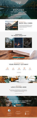 THE GREAT OUTDOORS- Home Page