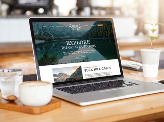 THE GREAT OUTDOORS- Website Design