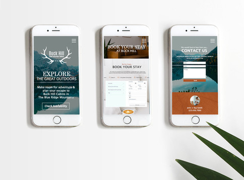 THE GREAT OUTDOORS- Mobile Website Design