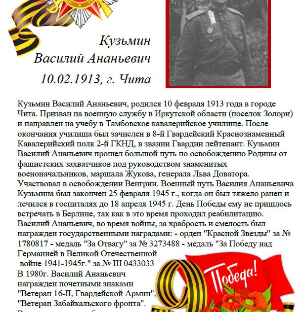 Кузьмин Василий Ананьевич