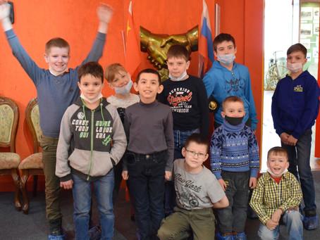 22 апреля кванторианцы отправились на выставку «Космос Забайкалья.