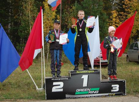 Забайкальские картингисты одержали победу на соревнованиях в Зеленогорске