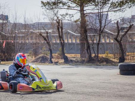 1 этап Кубка Сибири по картингу