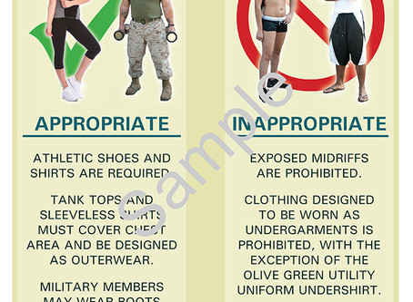 Fitness Center Dress Codes