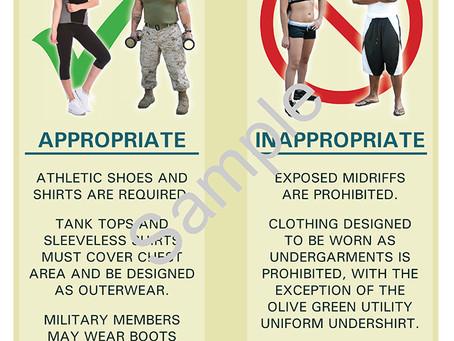 Fitness Center Dress Codes