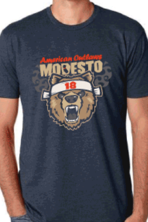 AO Modesto Blue Bear Shirt
