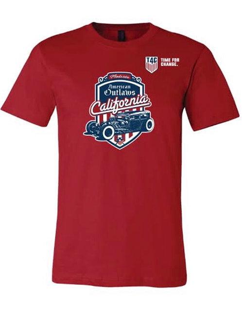 AO Modesto T4C Red Shirt