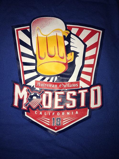 Beerfest Blue Logo Shirt