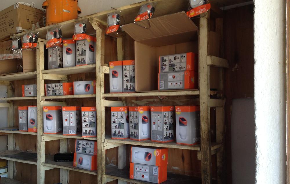 Clean Energy Enterprise in offgrid community. Solar Products in Uganda