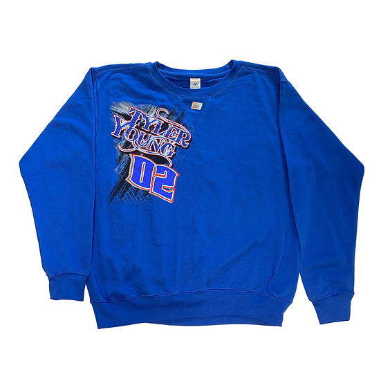 "Tyler Young ""02""  Throwback Sweatshirt"