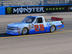 YOUNG'S MOTORSPORTS RETURNS WITH TOP-20 FINISH FROM ISM RACEWAY