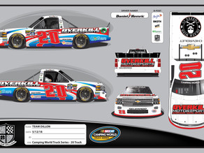 DANIEL HEMRIC TO MAKE FIRST NASCAR CAMPING WORLD TRUCK SERIES START OF 2018 AT CHARLOTTE MOTOR SPEED