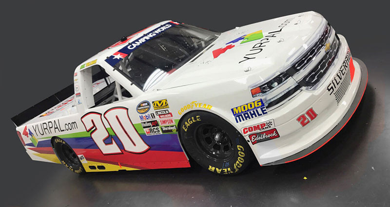 Max Tullman, No 20 Yurpal.com Chevrolet Layout