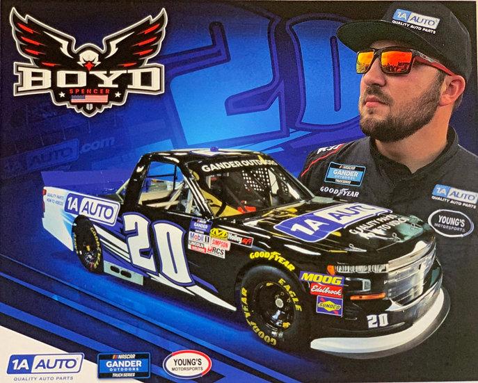 "Spencer Boyd ""1A Auto"" Hero Card"