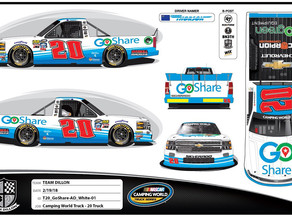 THORSON TO MAKE NASCAR CAMPING WORLD TRUCK SERIES DEBUT AT DOVER WITH YOUNG'S MOTORSPORTS & GOSHARE