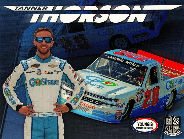 Tanner Thorson Hero Card