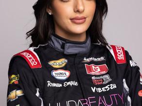 Toni Breidinger Sponsored by Huda Beauty for General Tire 200 at Talladega Speedway