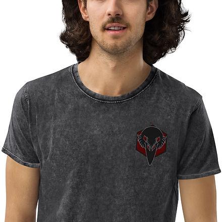 unisex-denim-t-shirt-black-zoomed-in-2-6