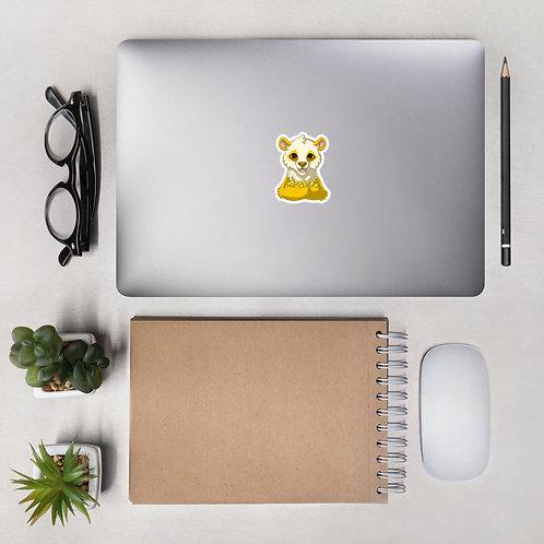 Lemon-Panda Sticker