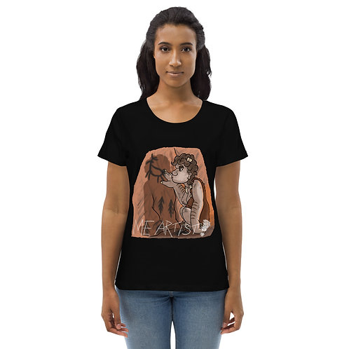 Me Artist! Women's fitted eco tee