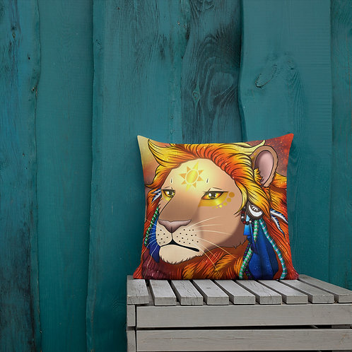 Lion brothers Pillow