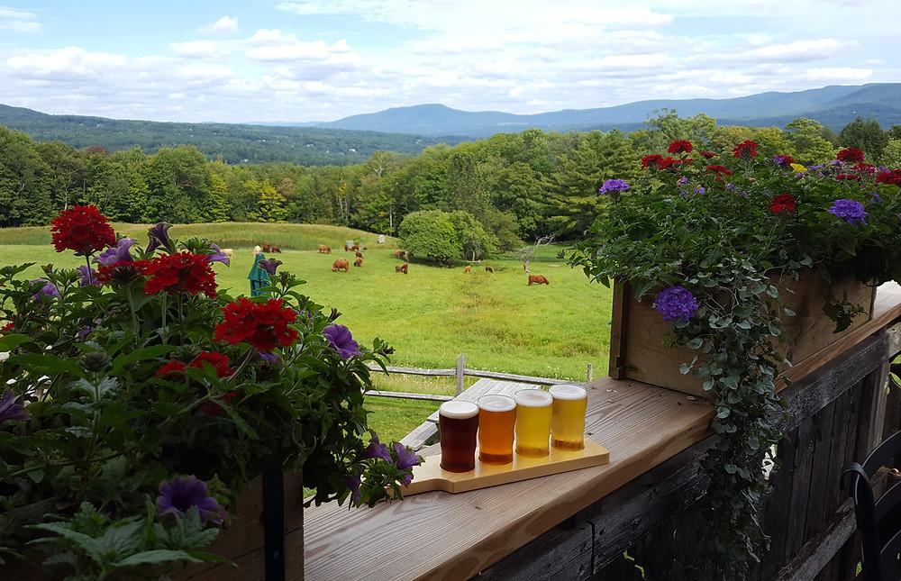 Stowe Vermont scenic Von Trapp Brewery