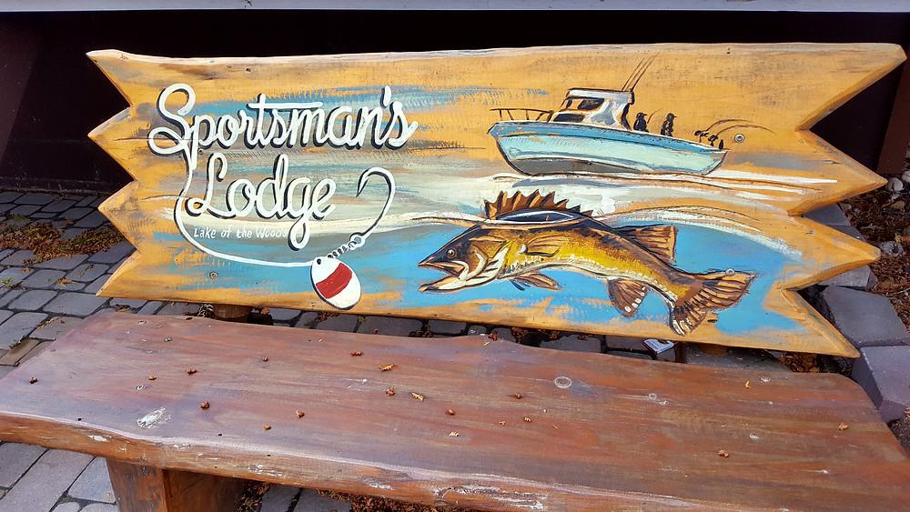 Lake of the Woods Minnesota walleye sturgeon Fishing Hunting