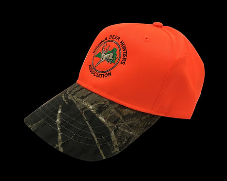 VDHA Blaze Orange Hat - Blaze Orange / Camo
