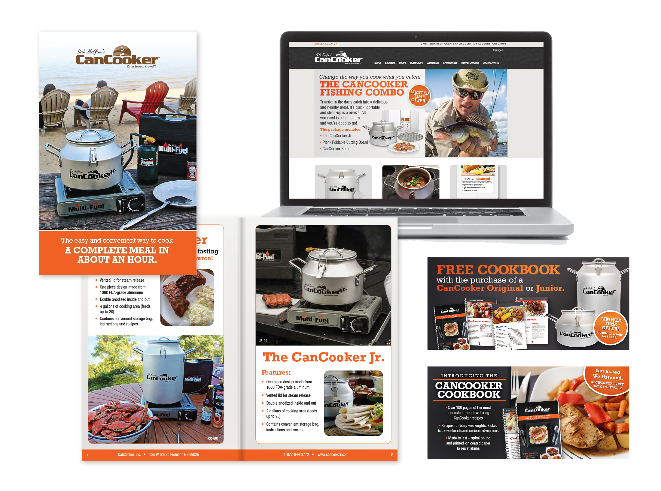 CanCooker Website and Brochure
