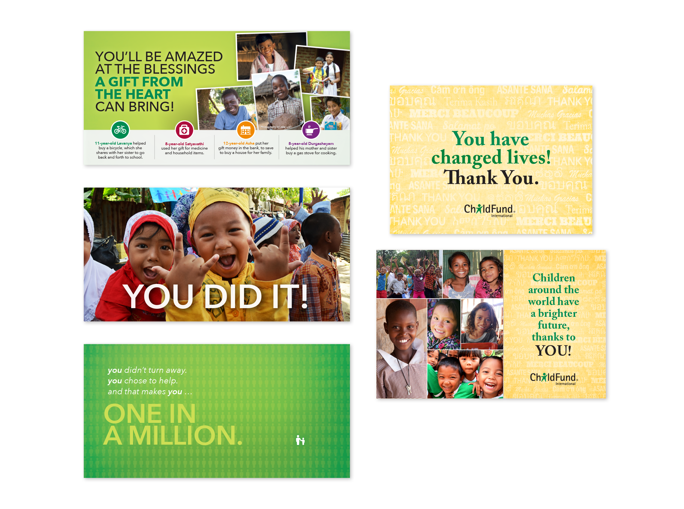ChildFund Postcards