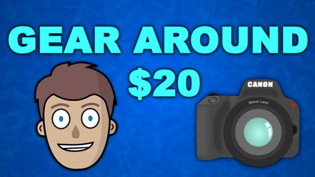BUDGET VIDEO GEAR! Top 5 Things in my Camera Bag around $20 Each