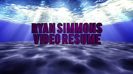 My Video Resume. Get to know Ryan Simmons in under 3 minutes!