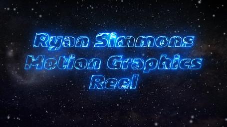 Ryan Simmons Motion Graphics/Animation Demo Reel 2020
