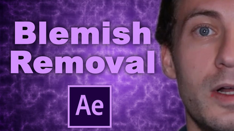 How to Remove Blemishes, Zits, and Pimples in Adobe After Effects Tutorial!